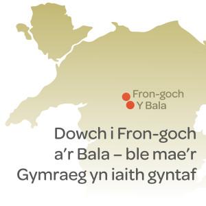 Map ymweld Cymraeg